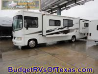 This class A motor home is so easy to drive and is