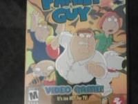 I'm selling my Family Guy came for 1$ its in good