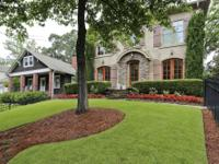 Impressive house with great curb appeal in an