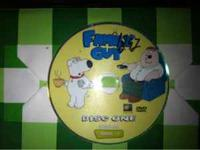 Family guy dvds seasons 1, 2,& 3....Thats 50 episodes!