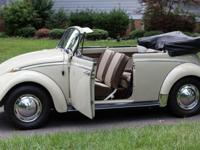 1965 bug convertible!GREAT original example of the very