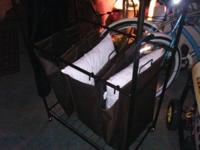 Nice hotel cloths cart, that they use to transport