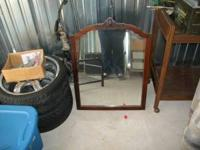 nice mirror in good shape selling for a friend can call