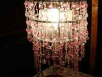 Necklace lamp, works Reminds me of Fancy Nancy Super