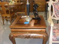 Really good elegant luxuriant side tables. Measures 24""