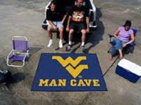 FanMats West Virginia University Man Cave All-Star Mat