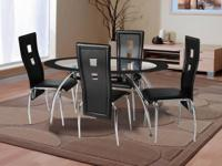 THIS ULTRA MODERN DINNING SET WILL TRANSFORM YOUR HOME