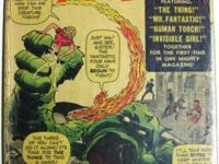 FANTASTIC FOUR # 1 November 1961 SILVER AGE KEY Stan
