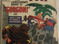 FANTASTIC FOUR# 44 Nov 1965 1st Gorgon 2nd Dragon Man