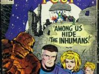 FANTASTIC FOUR# 45 Dec 1965 1st Inhumans Black Bolt