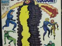 FANTASTIC FOUR# 67 Oct 1967 1st Him/Warlock Origin