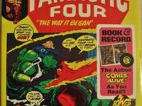FANTASTIC FOUR BOOK and RECORD SET, The Way It Began,