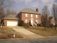 Located in Courland Park, this 2 story all brick home