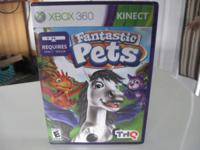 Slightly used Fantastic Pets game for xbox360
