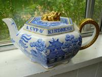 Great, authentically antique 19th century teapot. I did