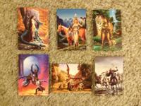 I am selling my complete fantasy art card collection.