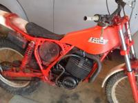 The bike runs and has new carb ,air filter and throttle