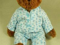Delicately loved FAO Teddy Bear for sale. Teddy is in