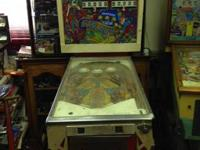 I have a early model pinball machine far out. It needs