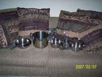 Farberware cookware set for sale. Great condition. Call