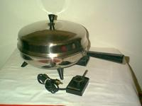 "Farberware Stainless Aluminum Clad 12"" Electric Skillet"