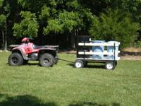 Farm and Ranch Wagon, 2200 lb. capacity, removable