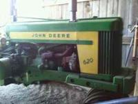 620 john deere 1958 model every thing original except