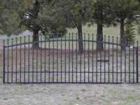 BRAND NEW DRIVEWAY GATE STARTING AT $500 WITH HINDGES