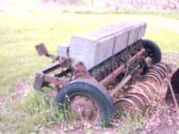 3 point or Pull type-Farm Grain Drill old type about 10