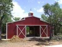 Equine specialist / shops / sheds / hay storage etc.