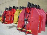 New farm equipment of all types by Kodiak, Roberts,