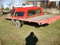 HOMEMADE TRAILER IN GOOD CONDITION HEAVY DUTY
