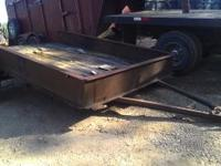 Homemade farm trailer. If interested text or email