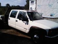 This truck is a beast! It is a '98 Chevy C3500 4 door,