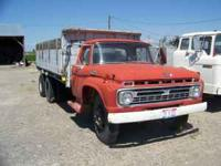 60s ford truck with bed and hoist 16ft. call charlie