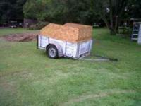 Great farm or utility trailer for sale. The plywood