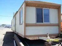 2 Bedroom 1 full bath single wide mobile home.