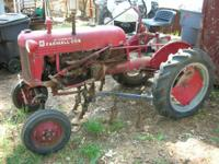 I have a very nice farmal cub tractor, run's like a new