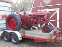Farmall 230 tractor.This is a tractor that was only