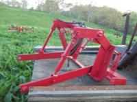3 pt convertion. homemade heavy built, fits Farmall
