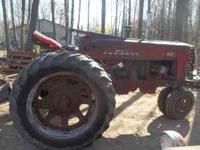 Farmall 400 gas tractor good runner good torque good