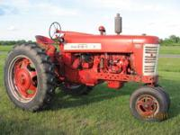 Farmall 400: Built between 1957-1960. Runs good. Has