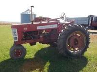 for sale farmall 450 gas new radiator, clutch,ta,pto,