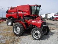 New 2012 Farmall 45A Tractor 45HP MFD front wheel