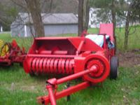 For sale; Farmall McCormack Model 46 hay baler in good