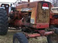 1969 Farmall 656 Gas, 2 point, dual hyd., TA works, New