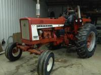 Farmall 706 Diesel with 5528 hours, Fast Hitch, 1