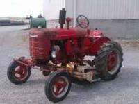 1945 Farmall A original configured as a FAA model