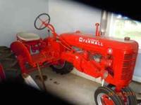 Restored Farmall B, Restored, New Paint, New Tires,