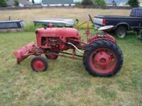 Here's a nice, collectable, running Farmall Cub